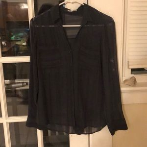 Express sheer portofino shirt